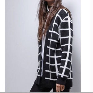 Urban Outfitters black and white cardigan NWOT